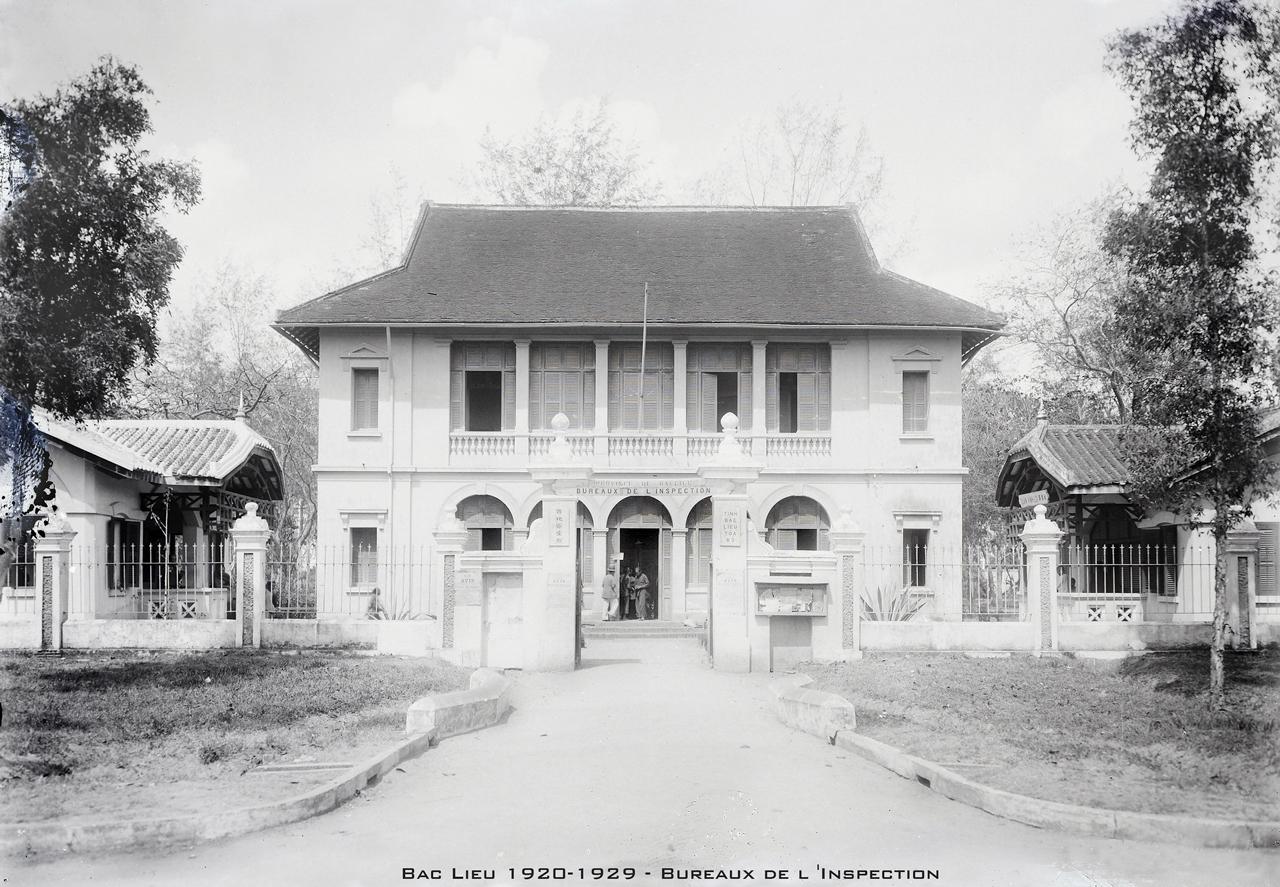 Tòa Bố tỉnh Bạc Liêu thập niên 1920s