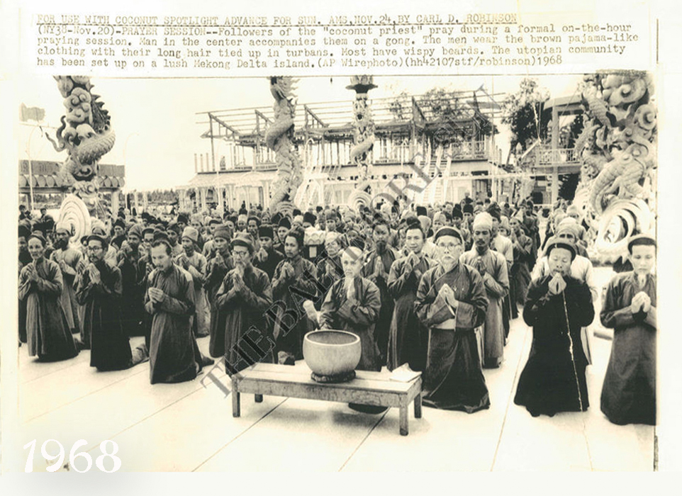Tín đồ đạo Dừa miền Nam Việt Nam năm 1968