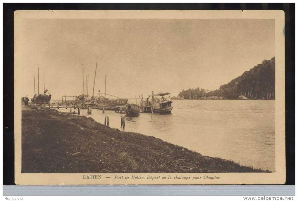 Bến cảng ở Hà Tiên