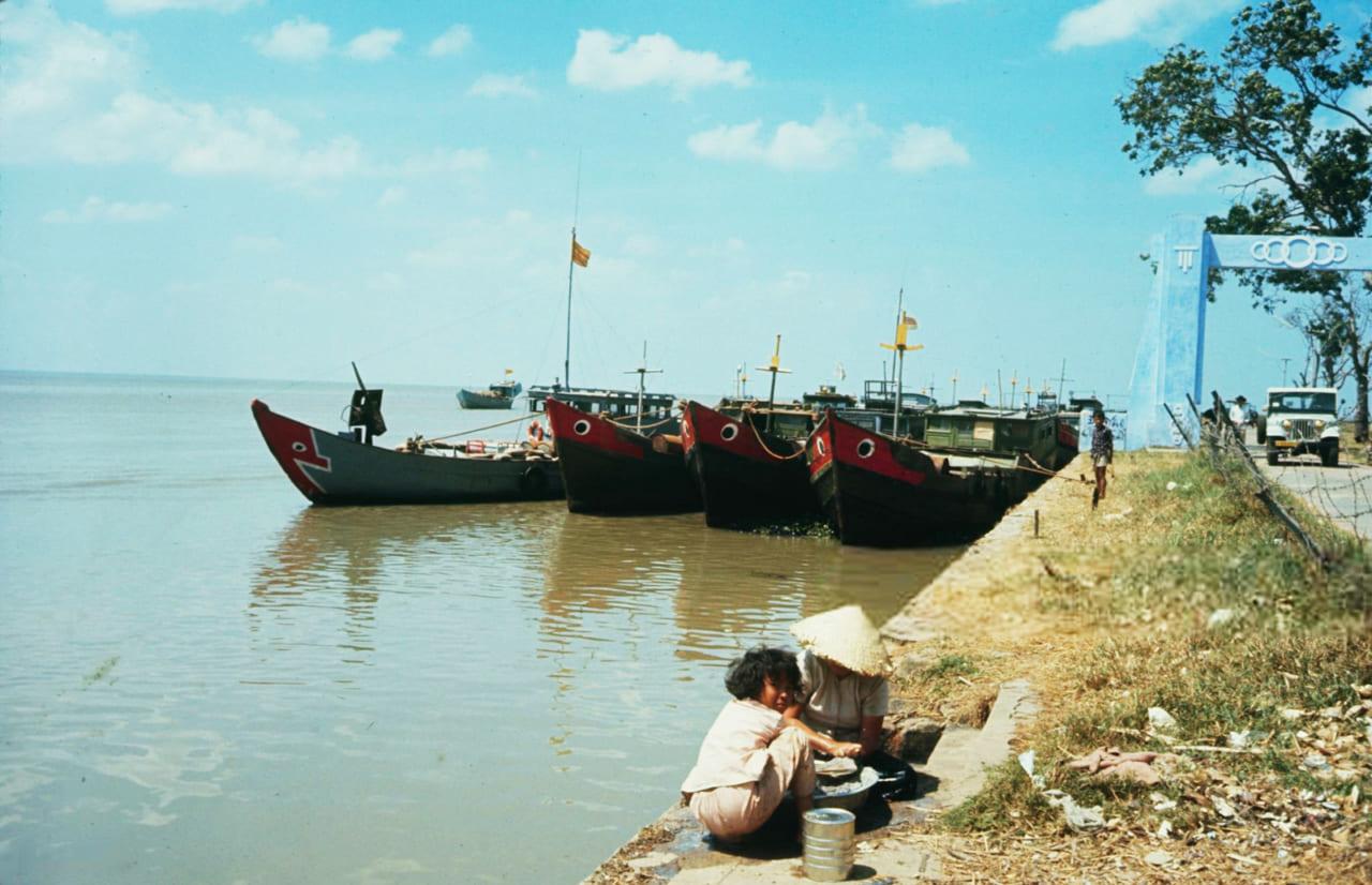 Bến tàu Rạch Giá năm 1968