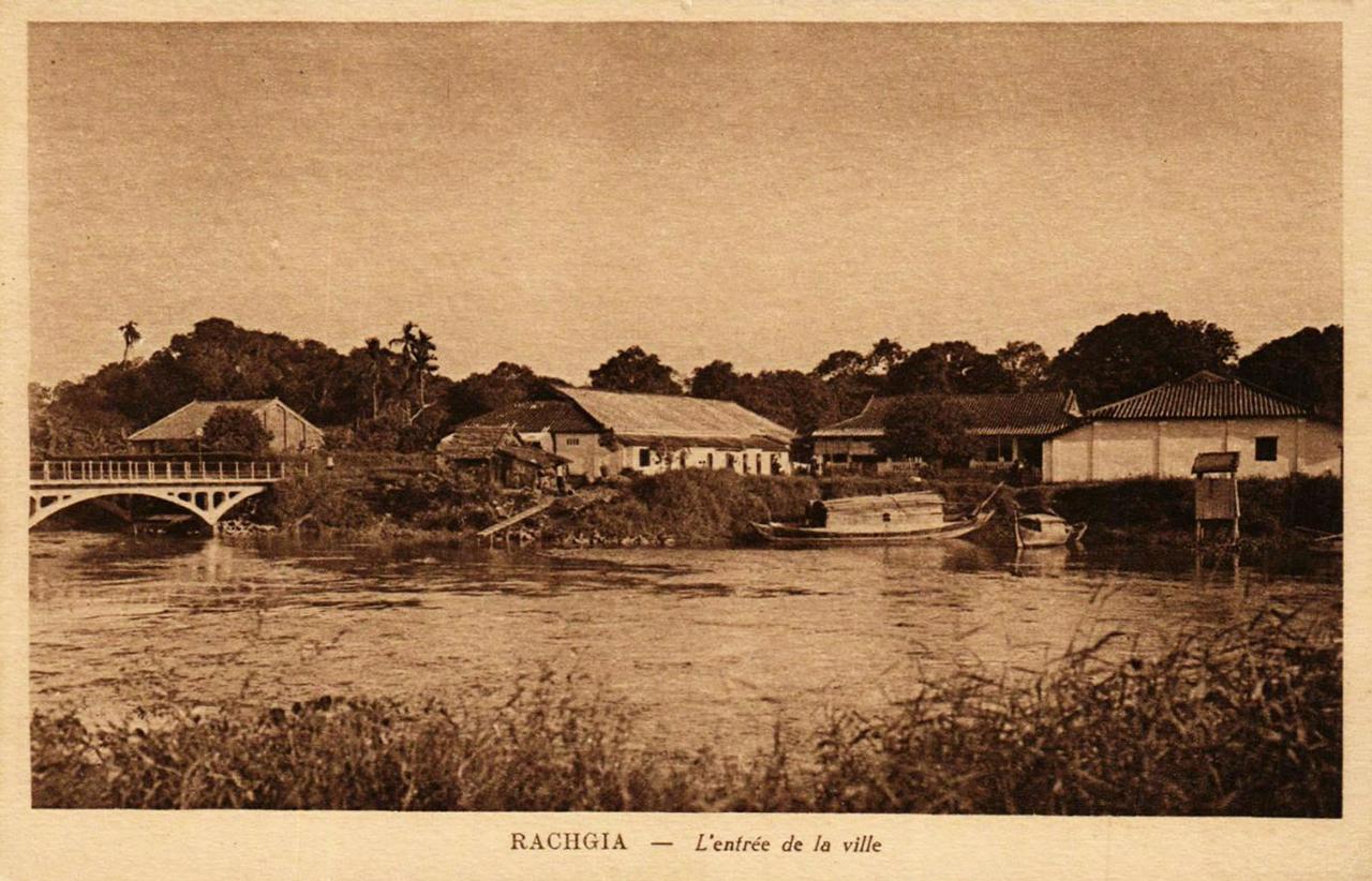 Cầu Đúc còn gọi là Cầu Kinh tại cửa ngõ ra vào thành phố Rạch Giá - Kiên Giang