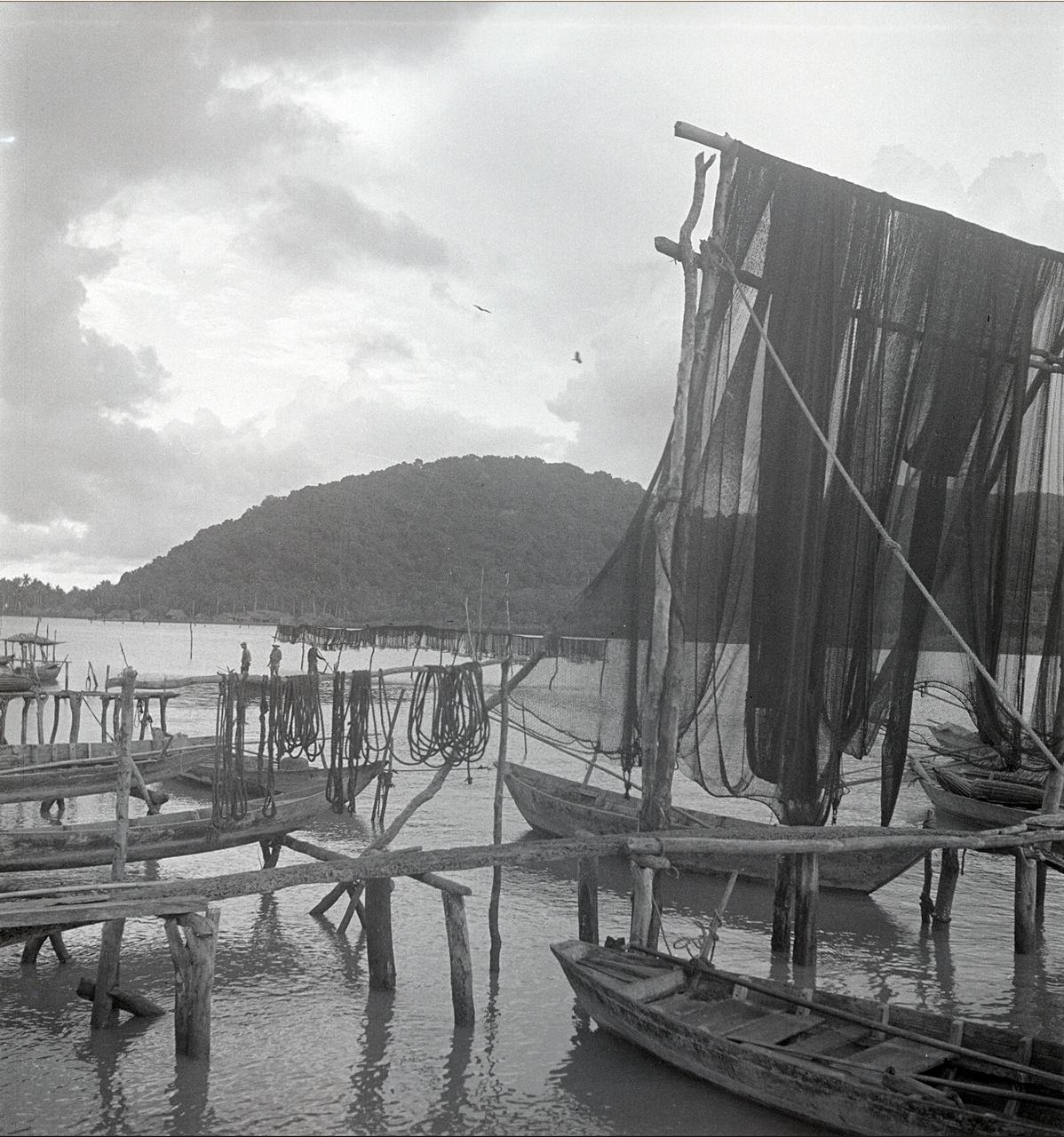 Làng Chày ở Hà Tiên, Kiên Giang