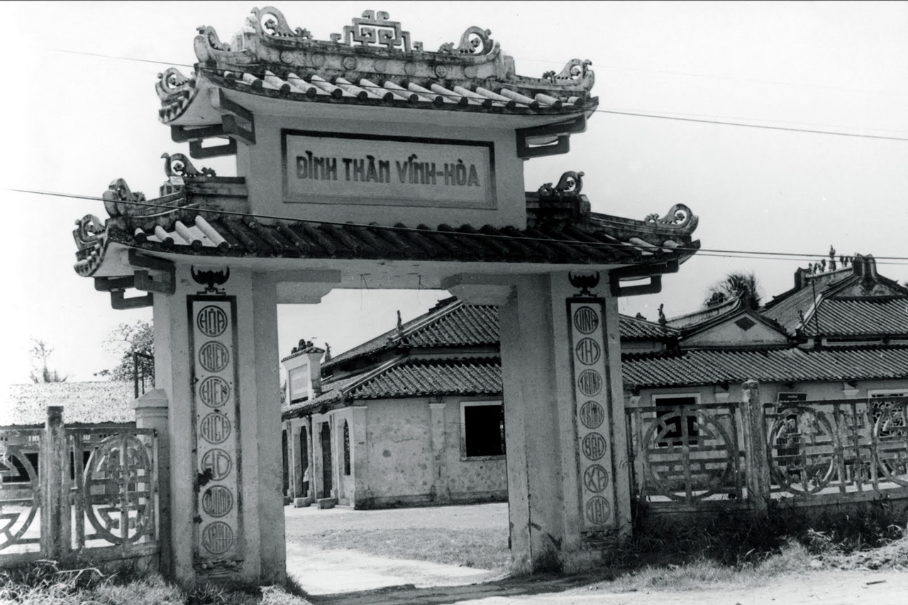 Đình Thần Vĩnh Hòa - Vĩnh Huế - Rạch Giá - Kiên Giang trước năm 1975