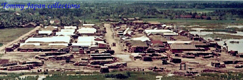 Toàn cảnh doanh trại Bình Phước - Long An tháng 6 năm 1967 | Photo by Fletcher Clyde
