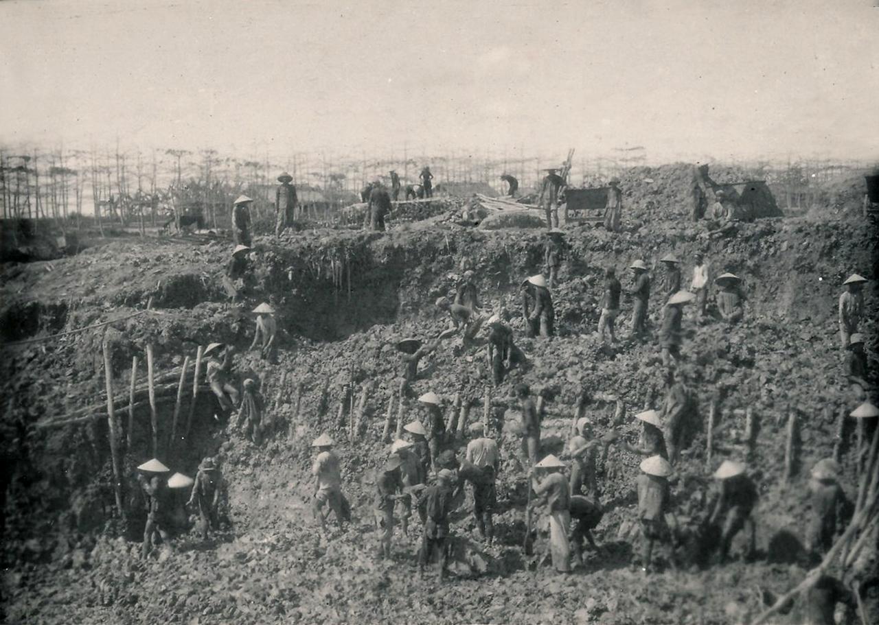 Kênh đào Chắc Băng được xây dựng để kết nối Cà Mau với Kiên Giang