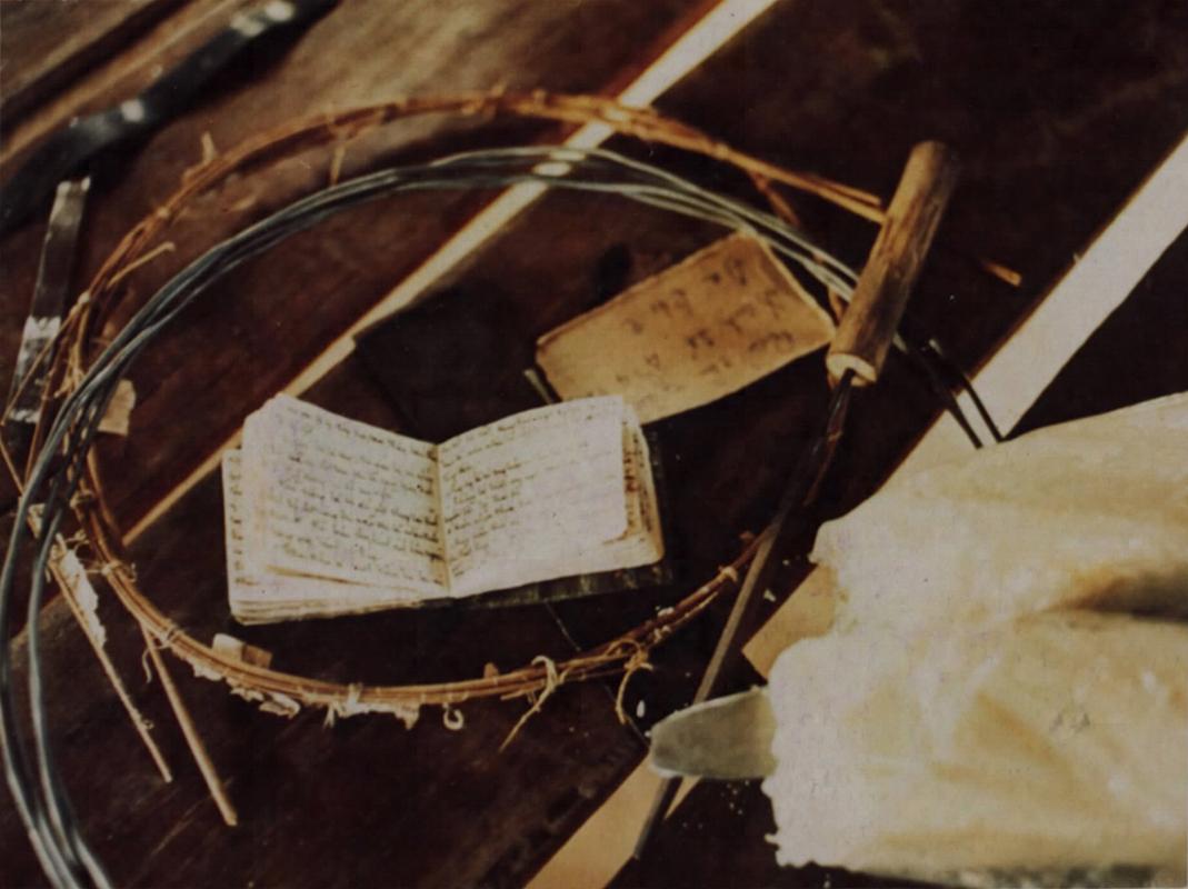Một cuốn sổ nhật ký của tù binh ở Phú Quốc