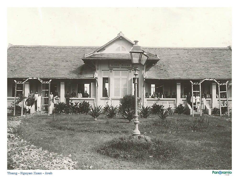 Nhà hộ sinh ở Giồng Riềng năm 1921-1935