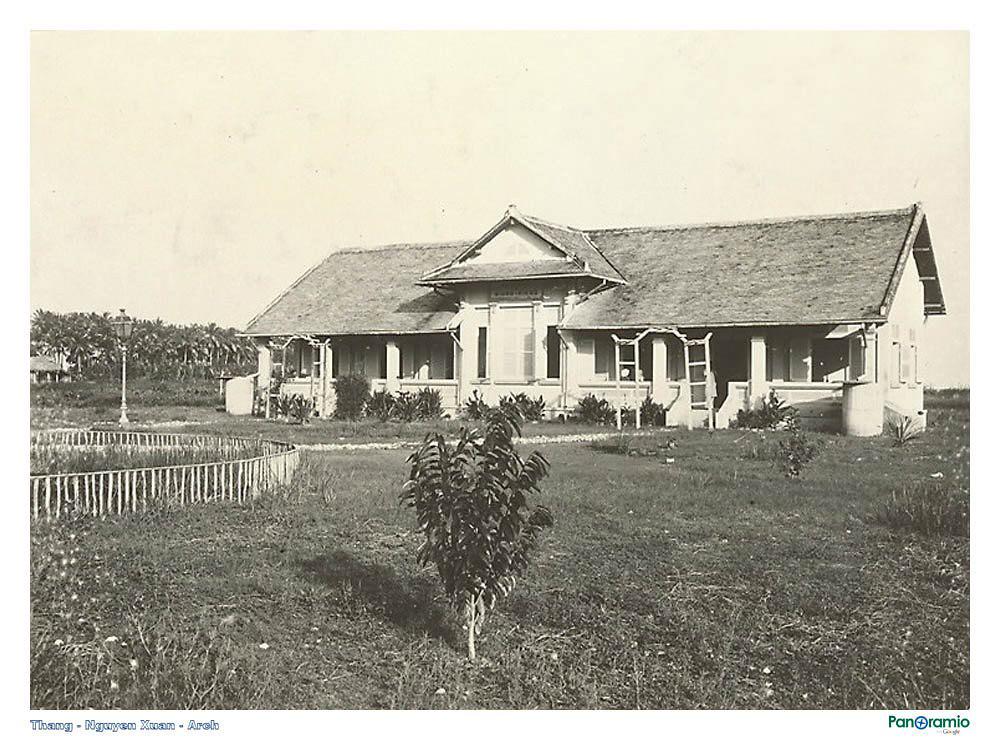 Nhà hộ sinh ở Giồng Riềng năm 1921-1935 ngày xưa