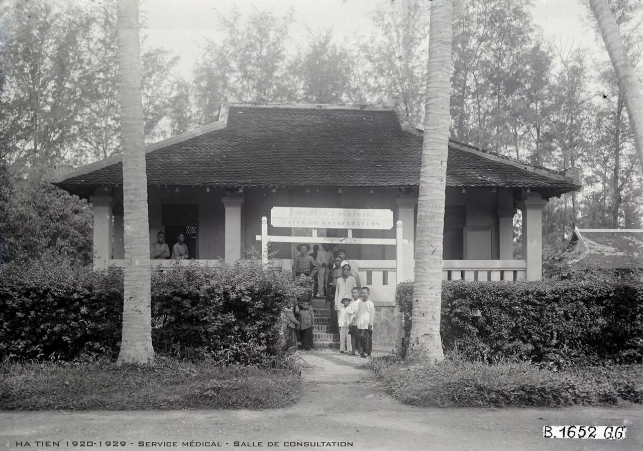 Phòng khám bệnh ở Hà Tiên thập niên 1920s