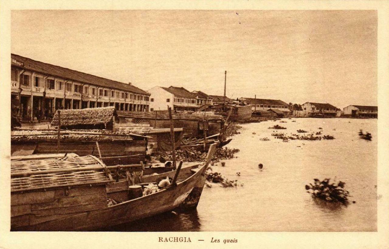 Con sông ven chợ Rạch Giá
