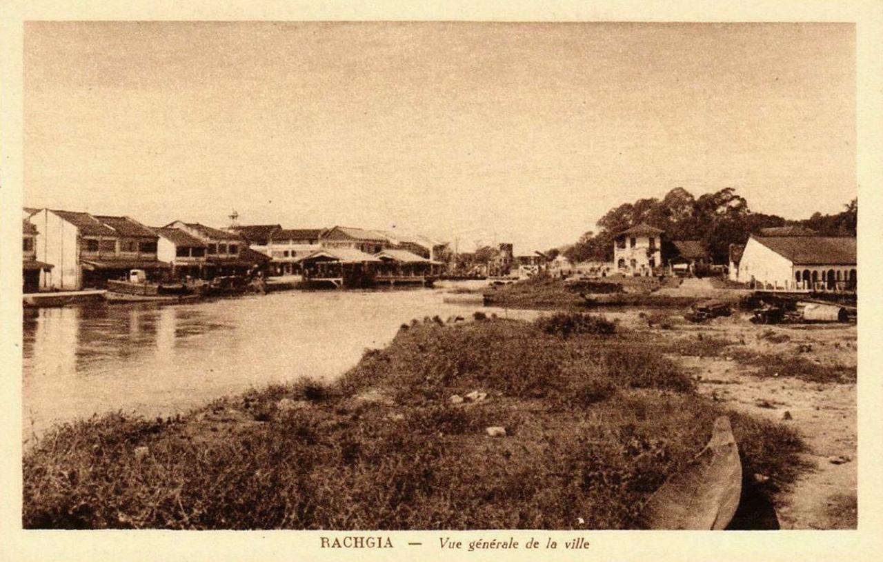 Sự bình yên ở ngôi làng ven con kênh ở Rạch Giá xưa