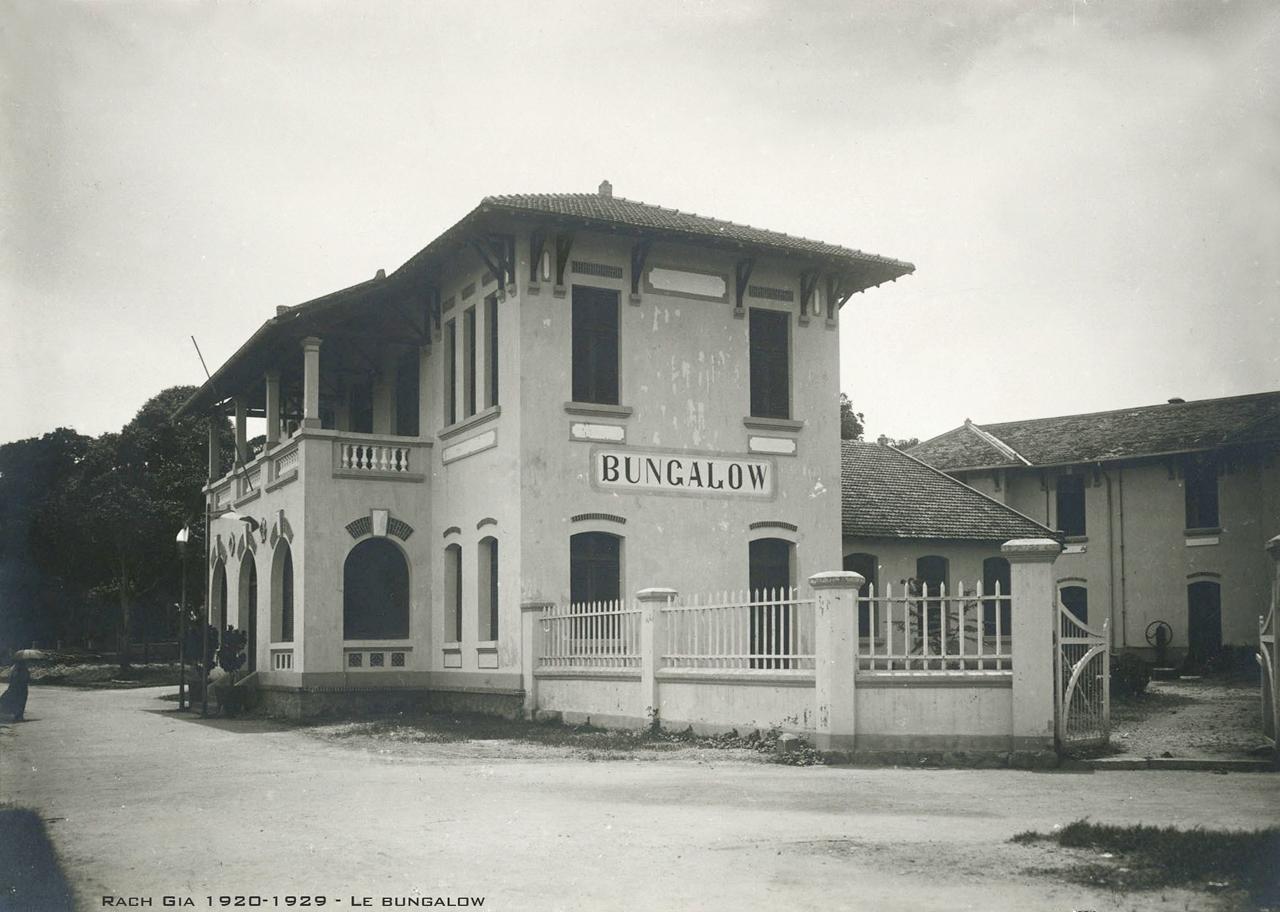 Bungalow ở Rạch Giá thập niên 1920s
