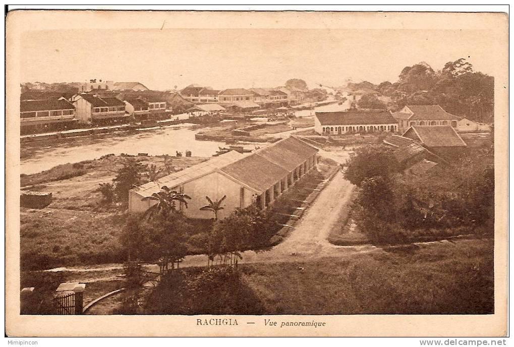 Hình ảnh Rạch Giá trên postcard xưa
