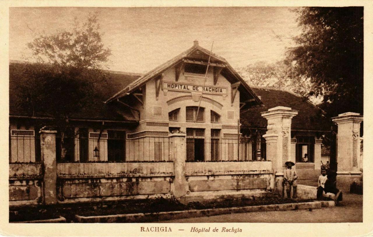 Bệnh viện Rạch Giá xưa - Hopital de Rach Gia