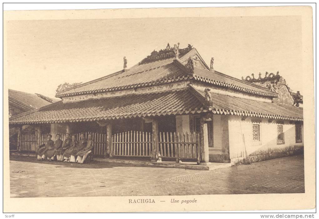 Ngôi đền ở Rạch Giá