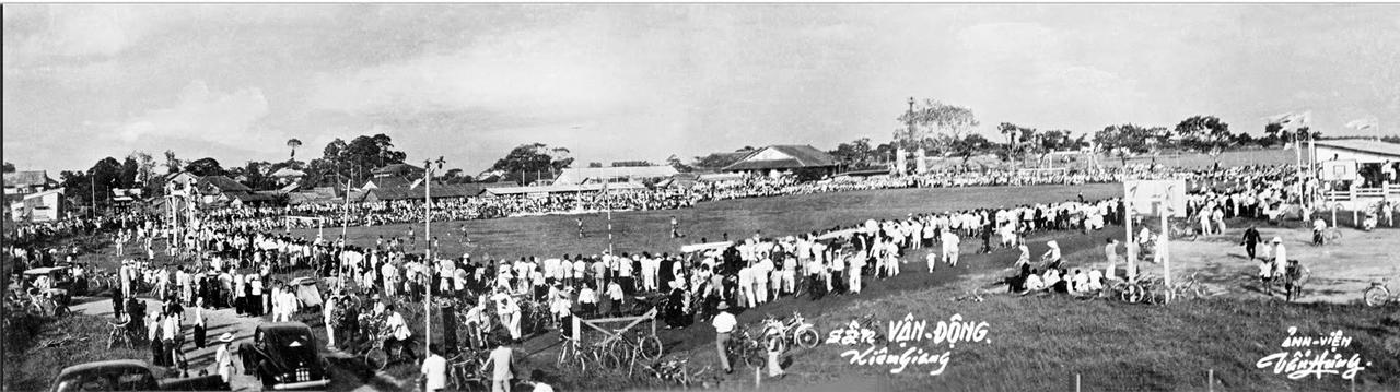 Sân vận động Kiên Giang năm 1968