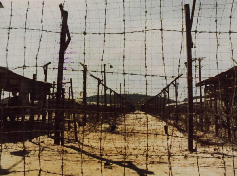 Hàng rào ở trại tù Phú Quốc