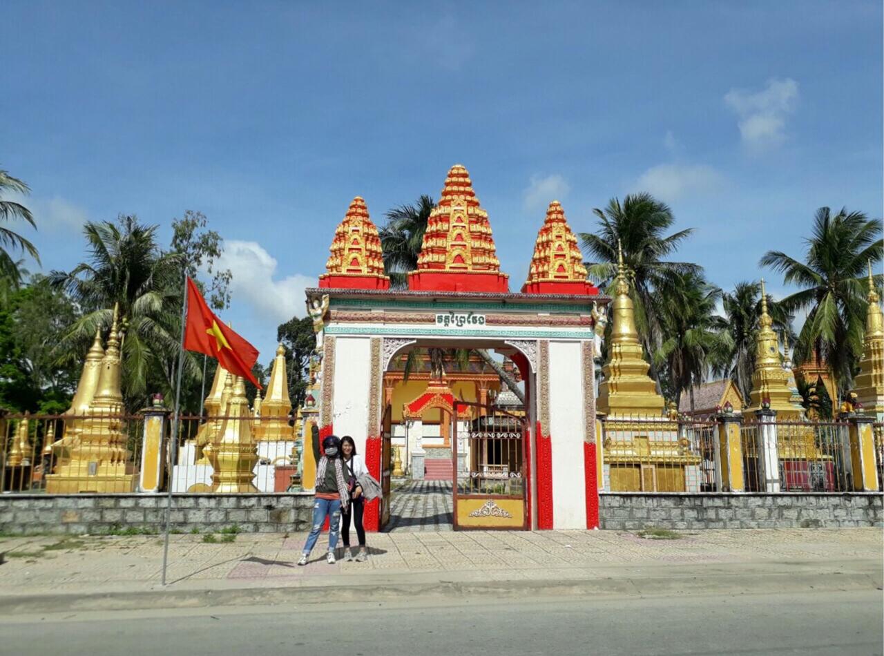 Cổng chùa Xà Tòn An Giang