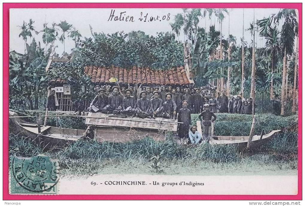 Hình ảnh Hà Tiên xưa trên 1 tấm postcard