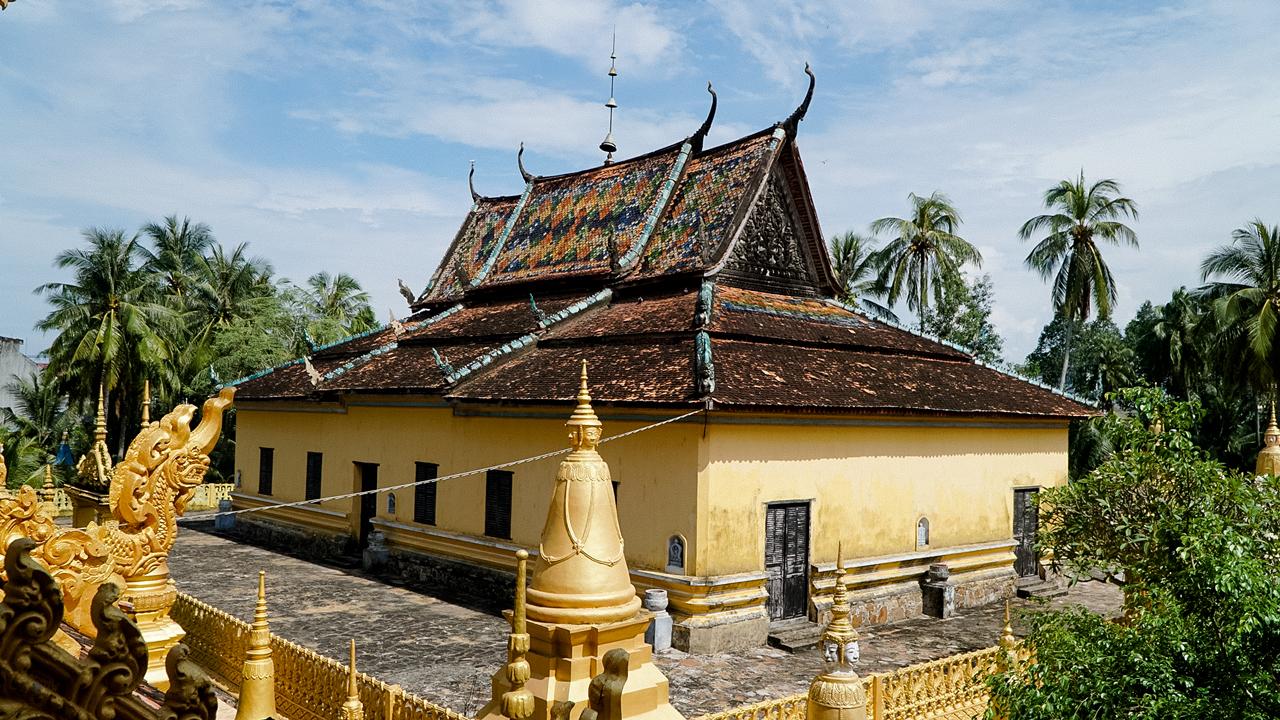 Kiến trúc Chánh điện chùa Xà Tón