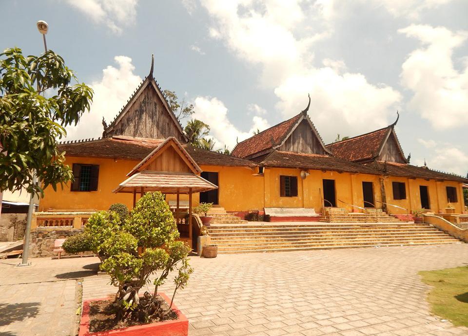 Kiến trúc nhà ở của các sư