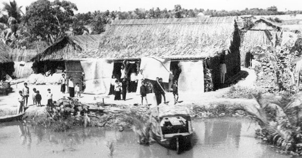 Nhà dân ở Phú Quốc năm 1950