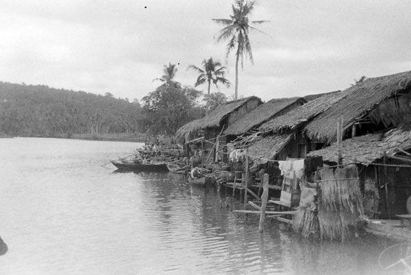 Nhà ven sông ở Phú Quốc năm 1950