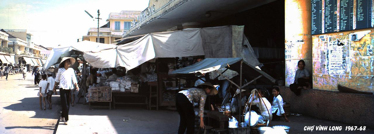 Chợ Vĩnh Long năm 1967 - 1968