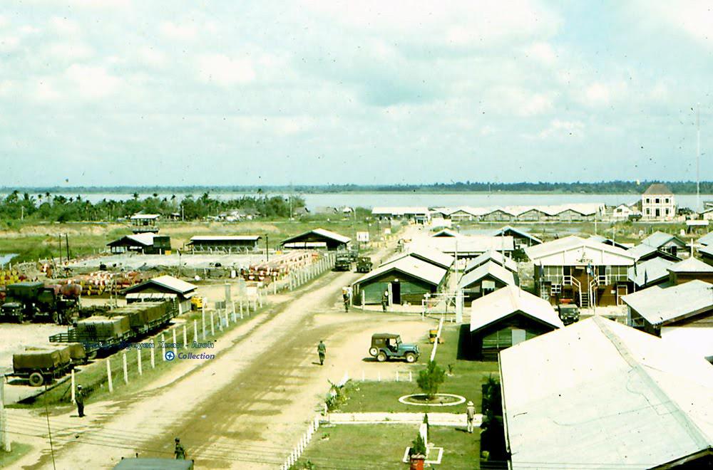 Toàn cảnh căn cứ quân sự Vĩnh Long năm 1967 - 1968