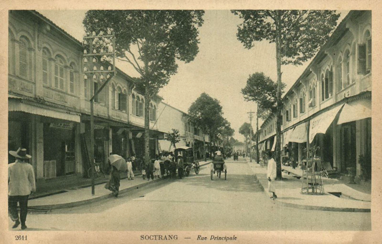 Đường phố chính ở tỉnh Sóc Trăng