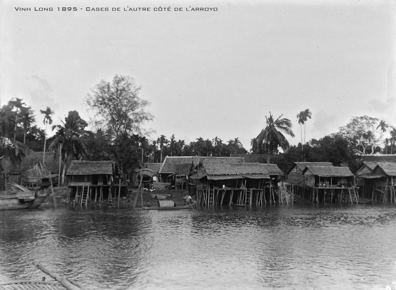 Nhà ven sông năm 1895 ở Vĩnh Long