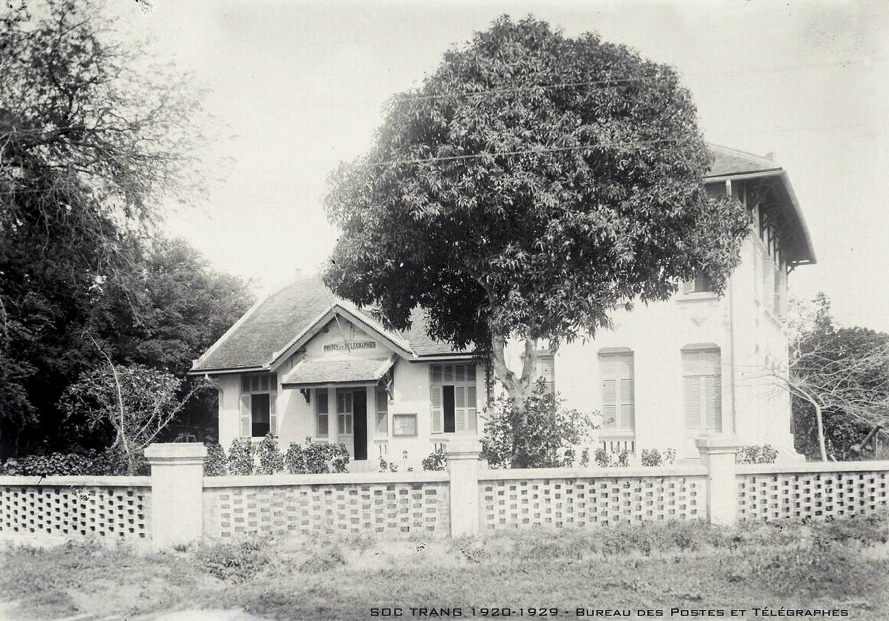 Ty Bưu Điện Sóc Trăng thập niên 1920s