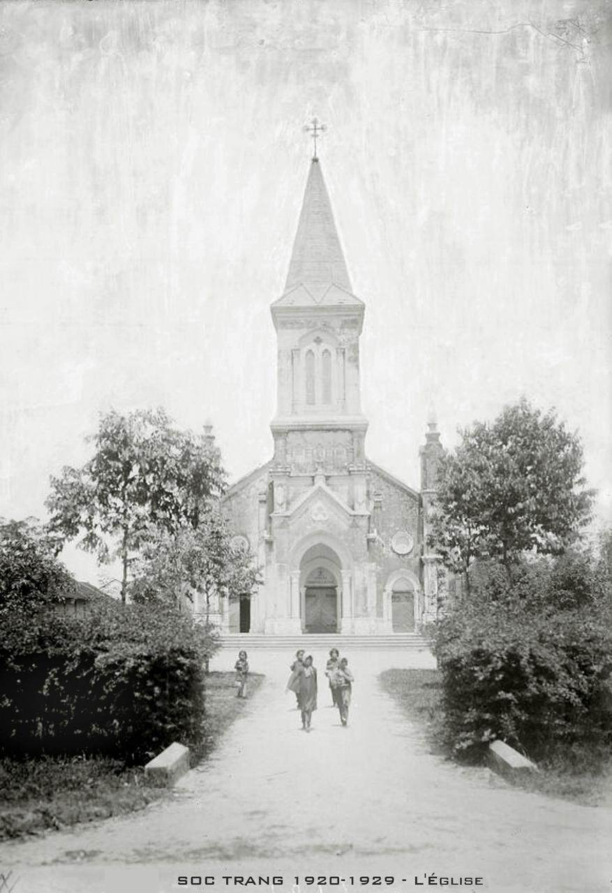 Nhà thờ Sóc Trăng thập niên 1920s