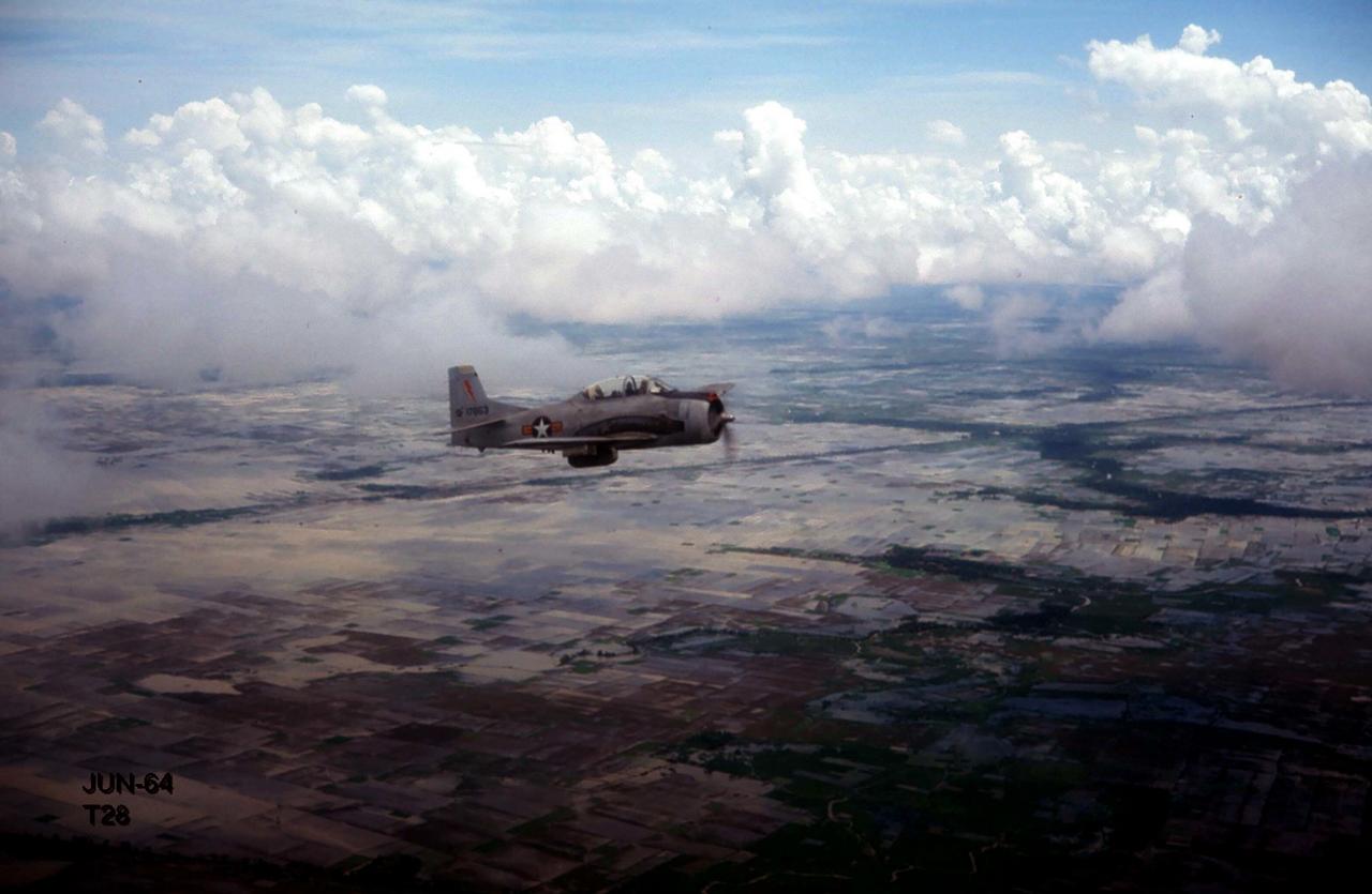 Không ảnh trực thăng Sóc Trăng phần 2 tháng 6 năm 1964 | Photo by George Muccianti