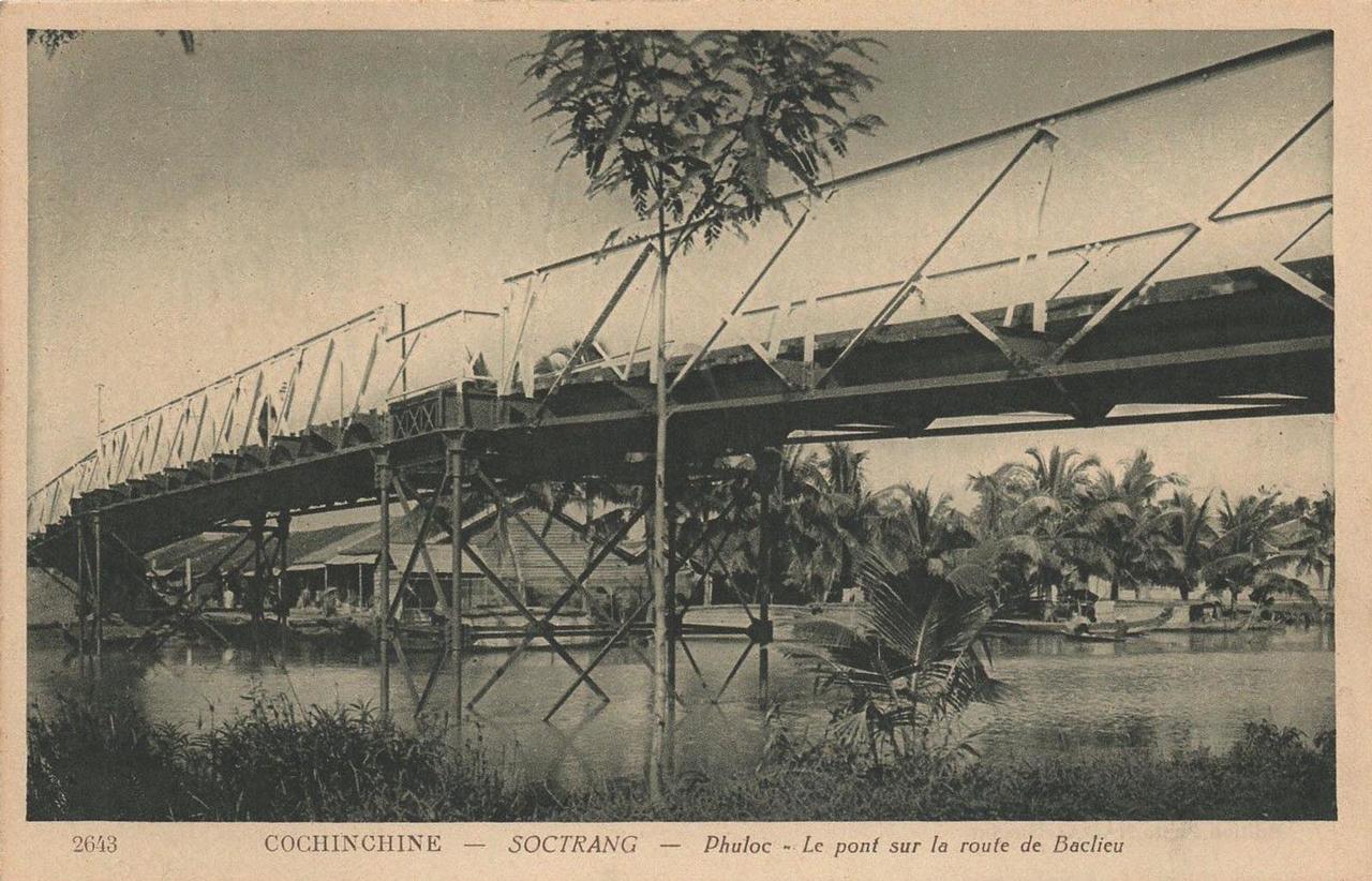 Cầu Phú Lộc nối Sóc Trăng qua Bạc Liêu