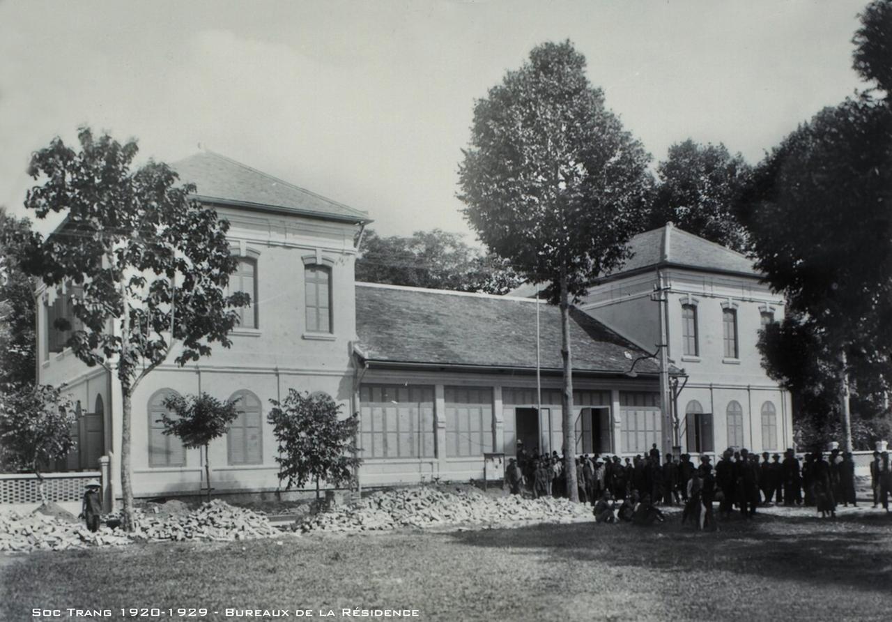 Trụ sở cư xá Sóc Trăng thập niên 1920s