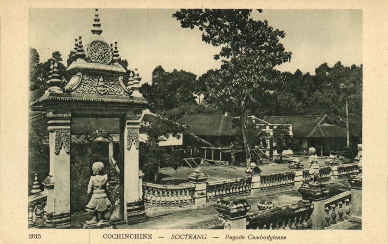 Kiến trúc ngôi chùa Khmer ở Sóc Trăng xưa