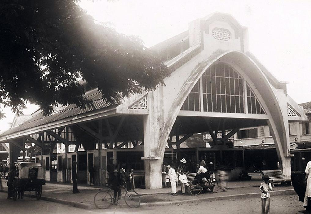 Ngôi nhà lồng ở chợ Sóc Trăng thập niên 1920s - 1930s