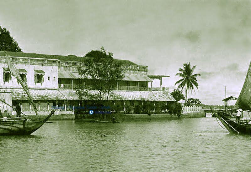 Ven sông Vĩnh Long năm 1940 - 1950