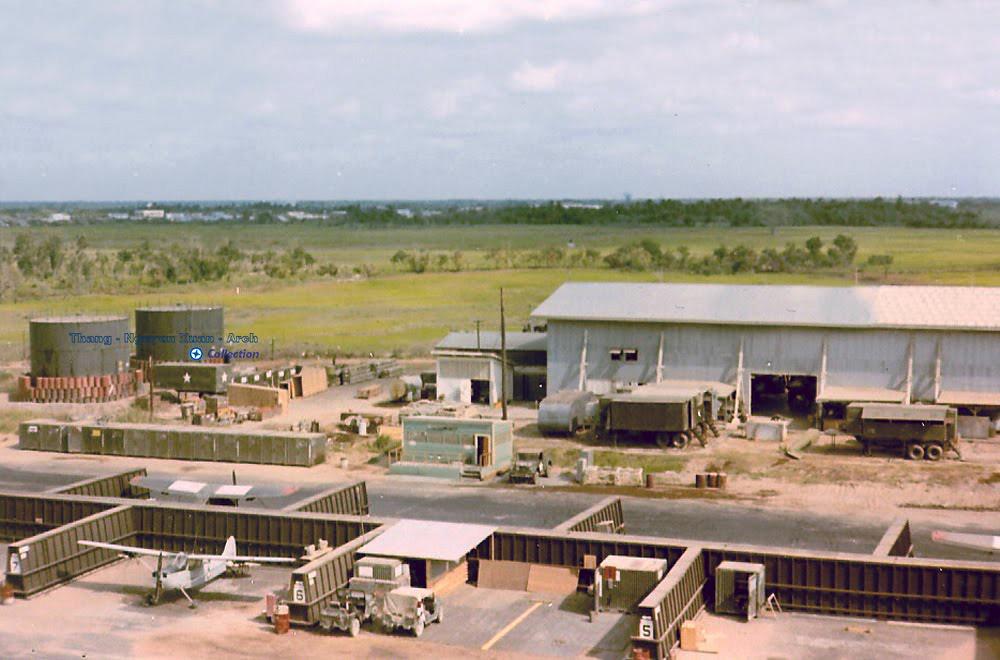 Phi trường Vĩnh Long năm 1968 - 1972