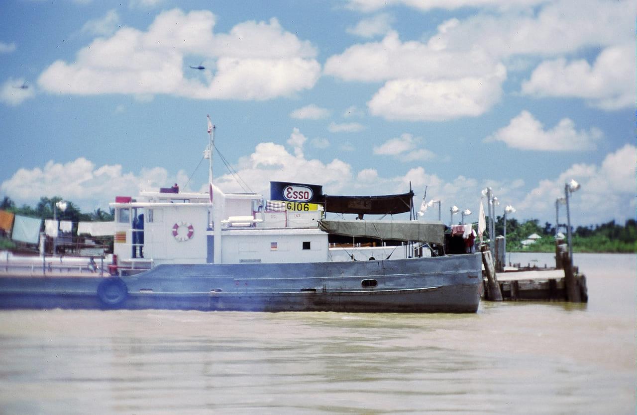 Bến tàu Vĩnh Long | Photo by J. Neal Jednoralski