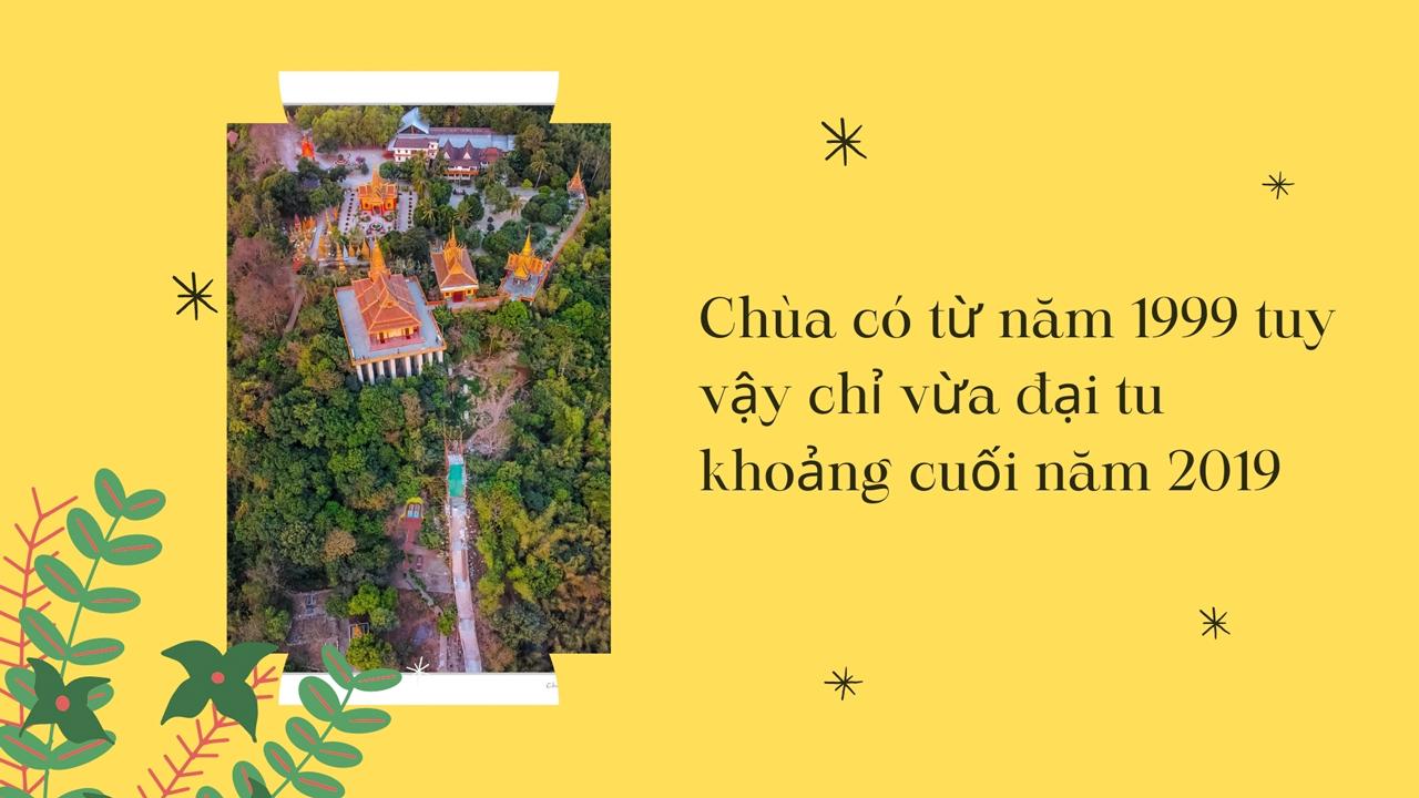 Quote chùa có lịch sử hơn 20 năm