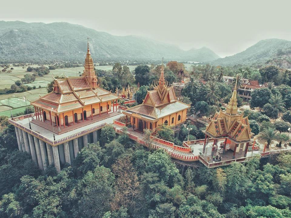 Công trình chùa Khmer núi Tà Pạ An Giang