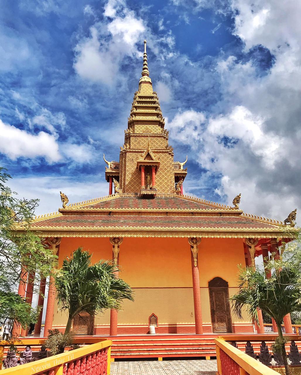 Kiến trúc một công trình của chùa núi Tà Pạ