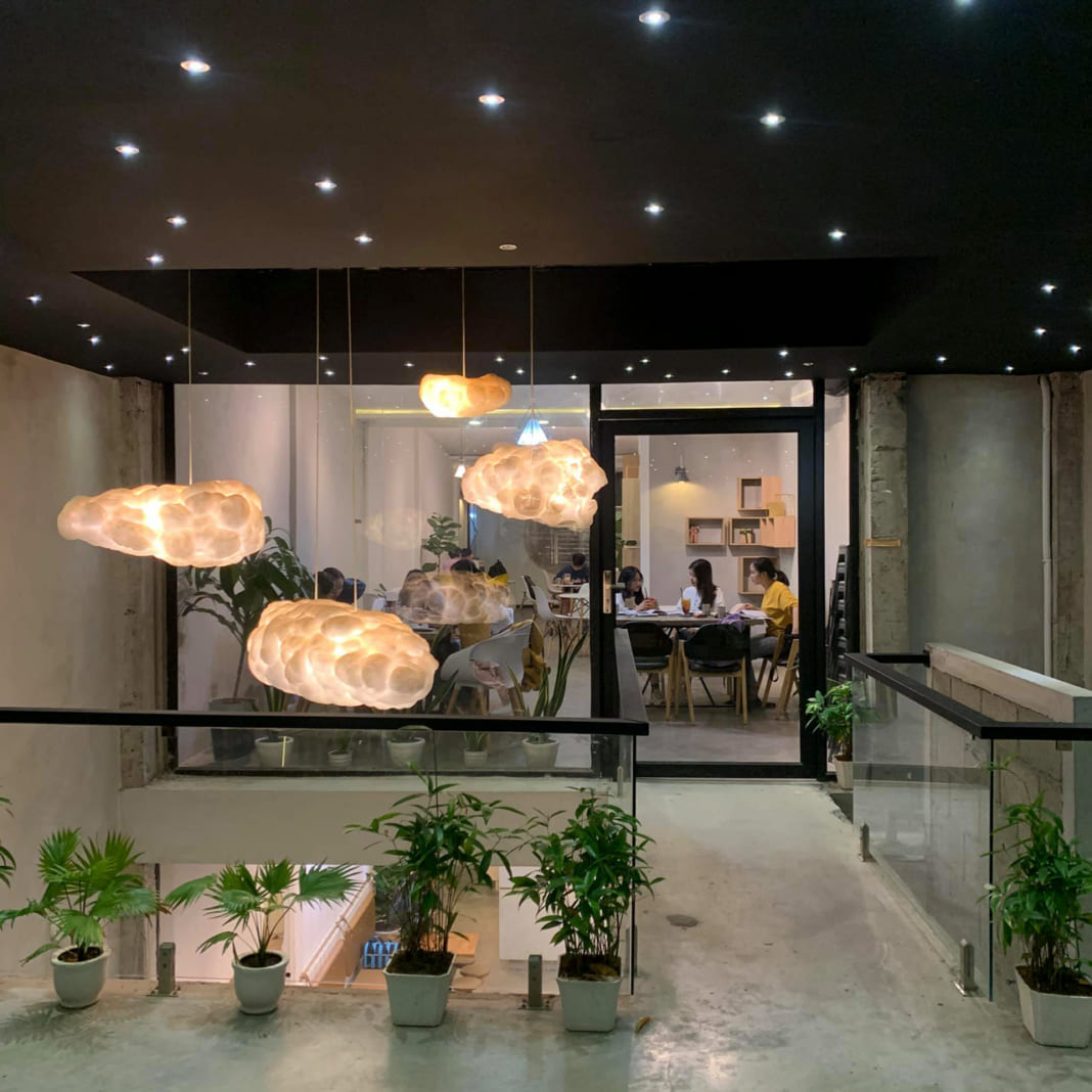 Không gian riêng của quán cà phê Infini T Cần Thơ