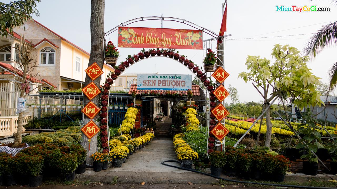Một ngôi nhà trang trí rực rỡ đón Tết Tân Sửu 2021 ở Làng hoa Sa Đéc