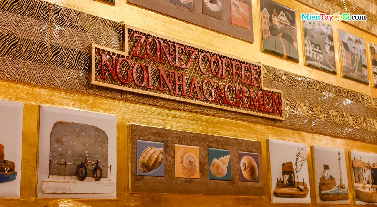 Ngôi nhà Gạch Men dát vàng của Zone 7 Coffee Cần Thơ