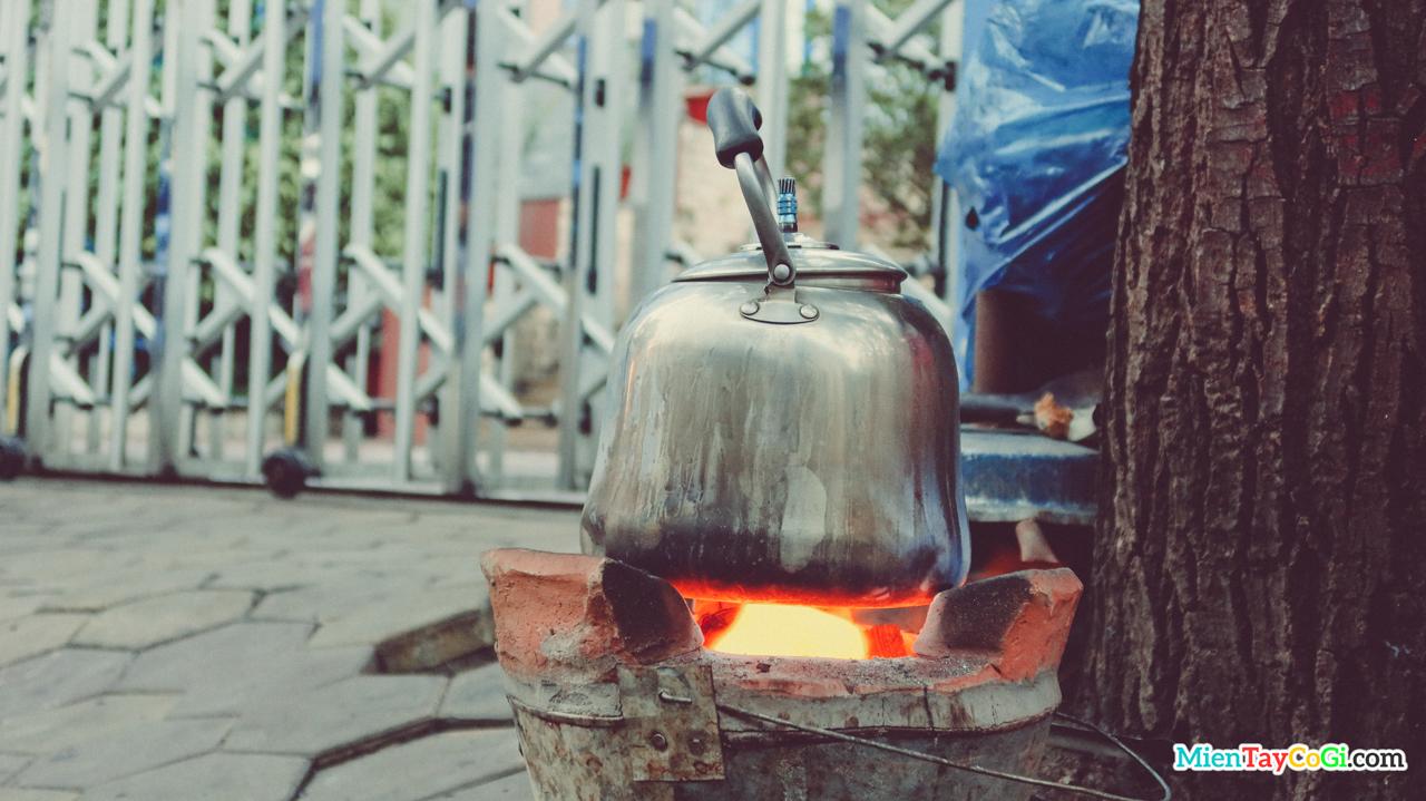 Siêu cà phê được hâm nóng