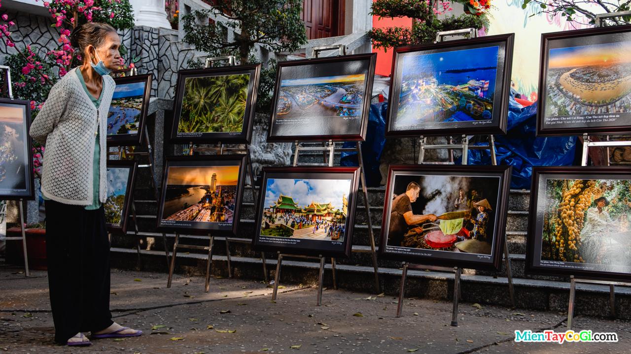 Triển lãm tranh vẽ Cần Thơ ở phố Ông Đồ 2021