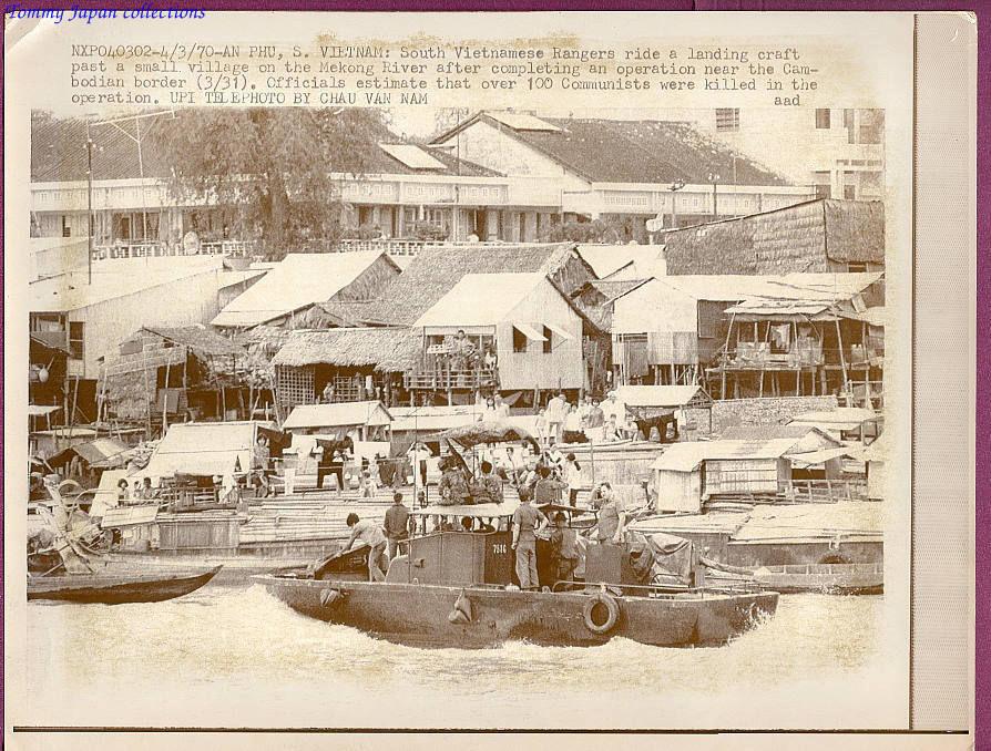 Biệt động quân VNCH trở lại An Phú - Châu Đốc sau cuộc hành quân từ Campuchia năm 1970